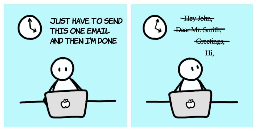 The Email Struggle